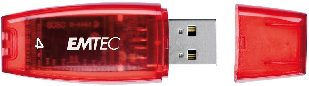 Emtec C400 4GB červený