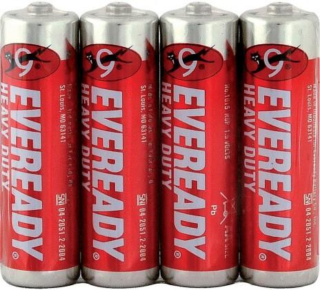 Energizer Eveready AA/4 637081