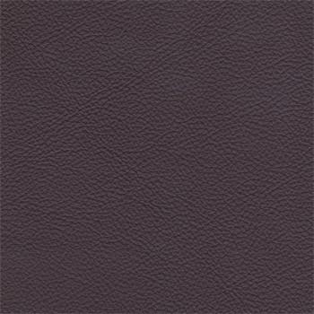 Enjoy - Kreslo, kože, kovové nohy (naturelle D 11211 aubergine)