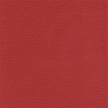 Enjoy - Taburet, kože, drevené nohy (naturelle D 11191 red)