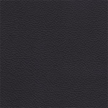 Enjoy - Taburet, kože, kovové nohy (naturelle D 11011 black)