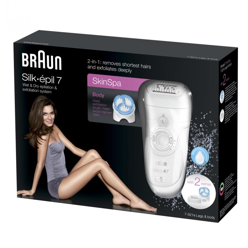 Epilátor, depilátor BRAUN Silk-épil 7 7-921E Wet&Dry