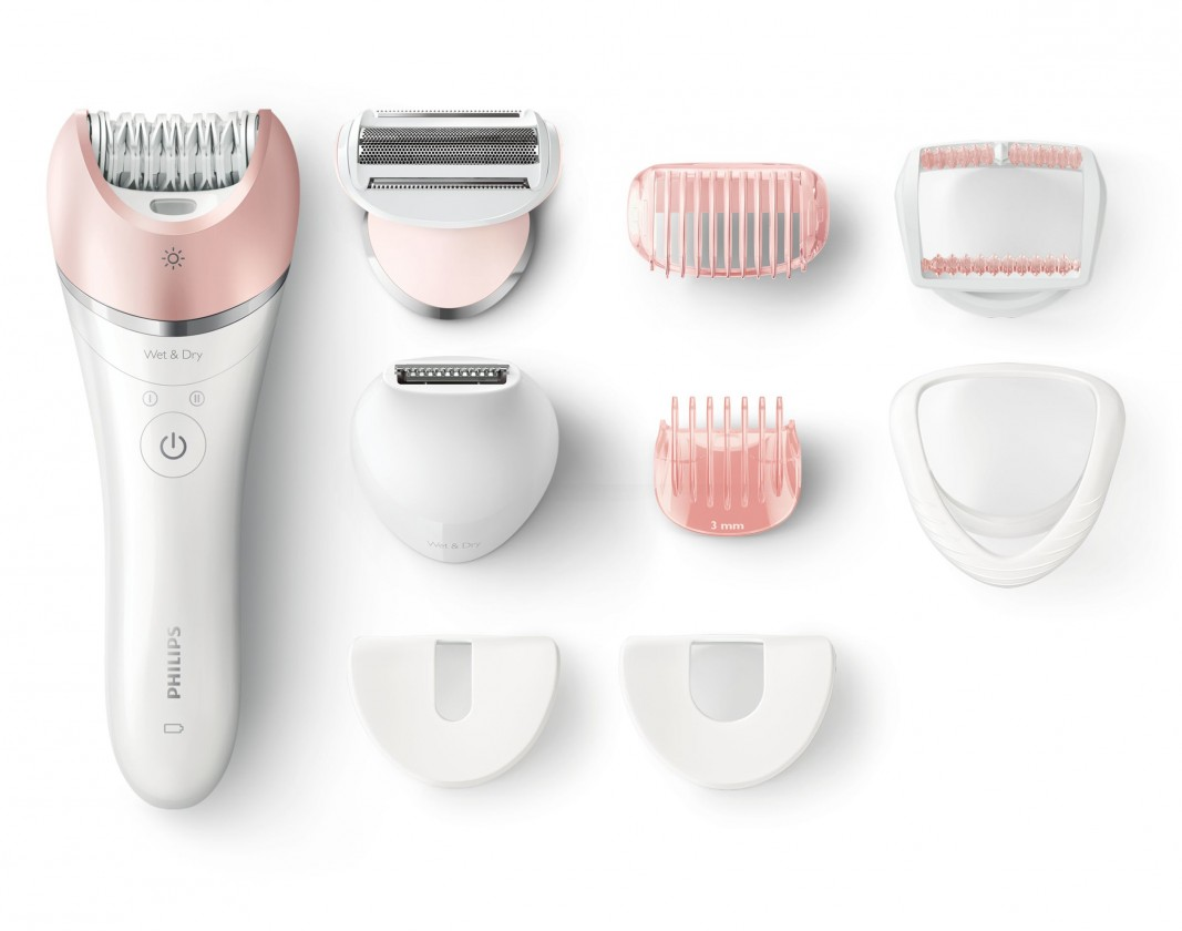Epilátor, depilátor Epilátor Philips Satinelle Advanced BRE640 / 00, Wet & Dry