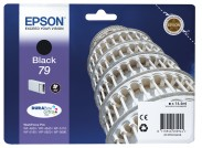 Epson originál ink C13T79114010, 79, L, black, 14ml