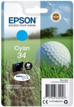 Epson Singlepack 34 DURABrite Ultra T3462 azurová C13T34624010