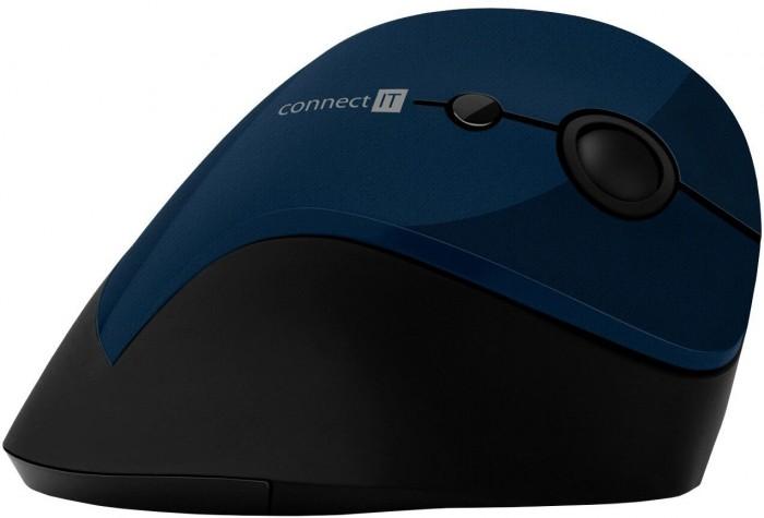 Ergonomická myš Connect IT CMO-2700-BL