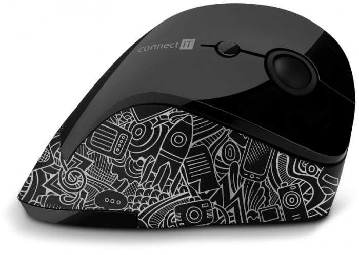 Ergonomická myš Connect IT Doodle (CMO-2705-DD)