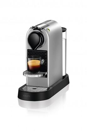 Espresso na kapsule Kapsuľový kávovar KRUPS Citiz XN741B10 strieborny