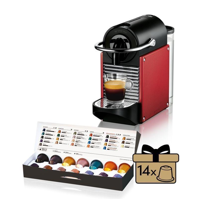 Espresso na kapsule Kapsuľový kávovar Nespresso De'Longhi EN124.R