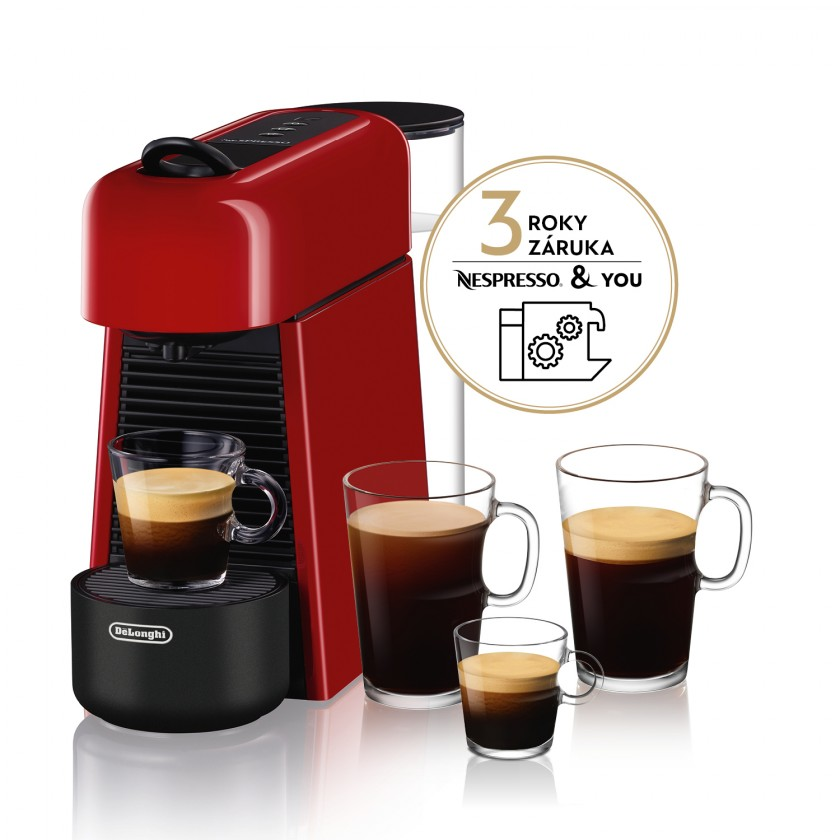 Espresso na kapsule Kapsuľový kávovar Nespresso De'Longhi EN200.R