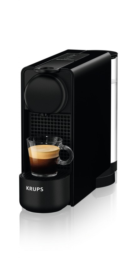 Espresso na kapsule Kapsuľový kávovar Nespresso Essenza Plus Krups XN510810 čierny