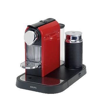 Espresso na kapsule Krups Citiz & Milk Red XN 7305