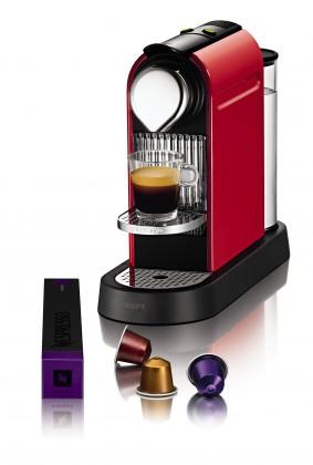 Espresso na kapsule Krups Citiz Red XN 7205