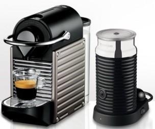 Espresso na kapsule Krups Pixie XN 301 T10 NEKOMPLETNÉ PRÍSLUŠENSTVO