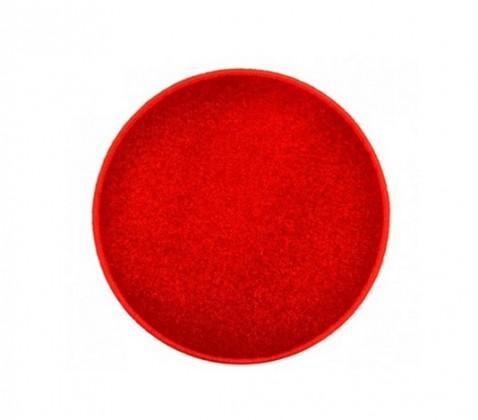 Eton - koberec, 100x100cm (100%PP, guľatý, červená)