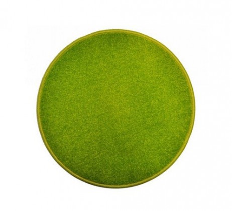 Eton - koberec, 100x100cm (100%PP, guľatý, zelená)