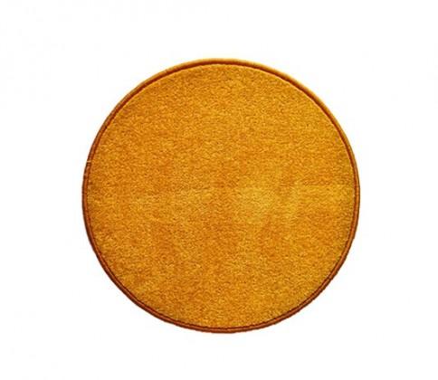 Eton - koberec, 100x100cm (100%PP, guľatý, žltá)
