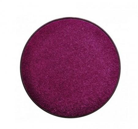 Eton - koberec, 120x120cm (100%PP, guľatý, fialová)