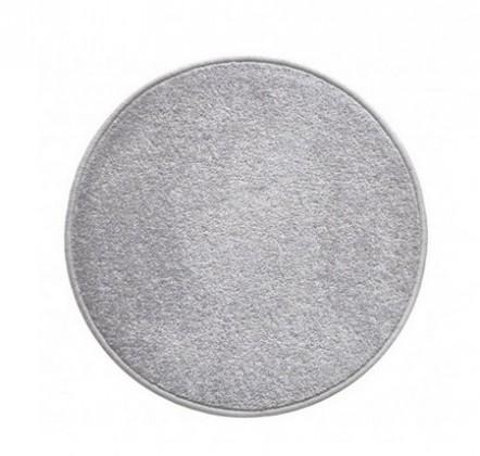 Eton - koberec, 120x120cm (100%PP, guľatý, sivá)