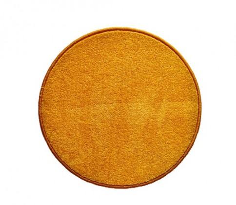Eton - koberec, 120x120cm (100%PP, guľatý, žltá)