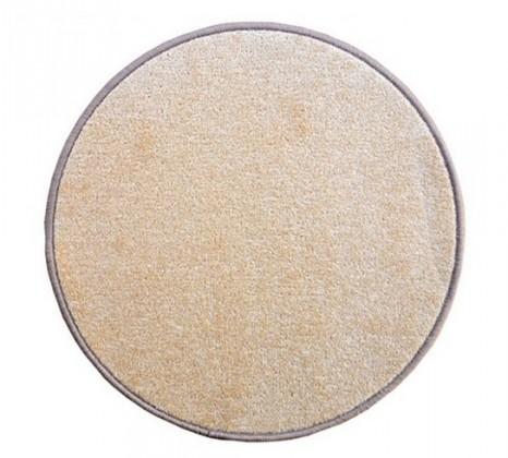 Eton - koberec, 160x160cm (100%PP, guľatý, béžová)