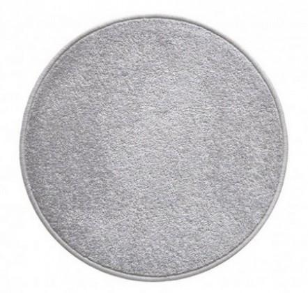 Eton - koberec, 160x160cm (100%PP, guľatý, sivá)