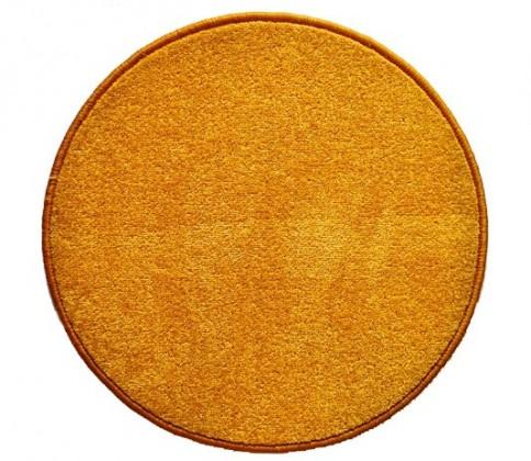 Eton - koberec, 200x200cm (100%PP, guľatý, žltá)