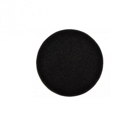 Eton - koberec, 57x57cm (100%PP, guľatý, čierna)