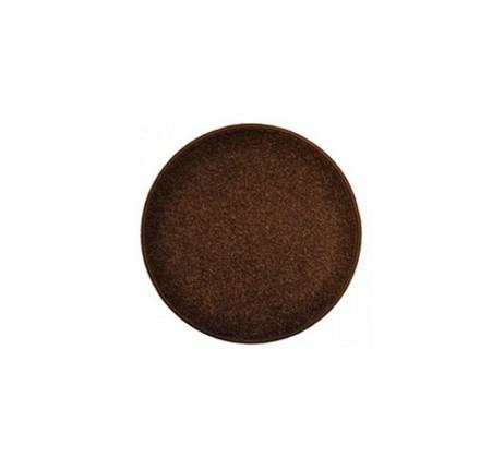 Eton - koberec, 57x57cm (100%PP, guľatý, hnedá)
