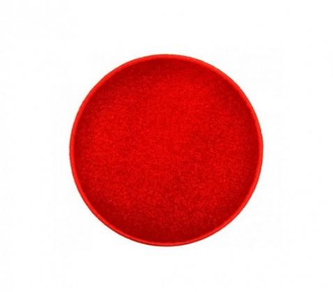 Eton - koberec, 80x80cm (100%PP, guľatý, červená)