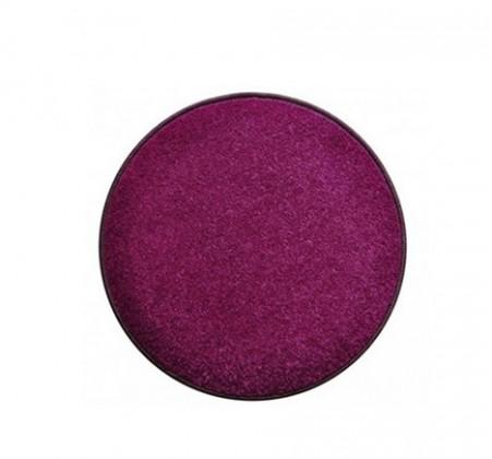 Eton - koberec, 80x80cm (100%PP, guľatý, fialová)