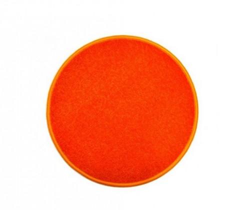 Eton - koberec, 80x80cm (100%PP, guľatý, oranžová)