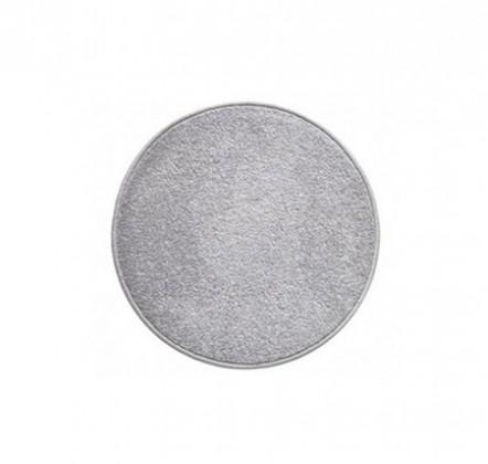 Eton - koberec, 80x80cm (100%PP, guľatý, sivá)