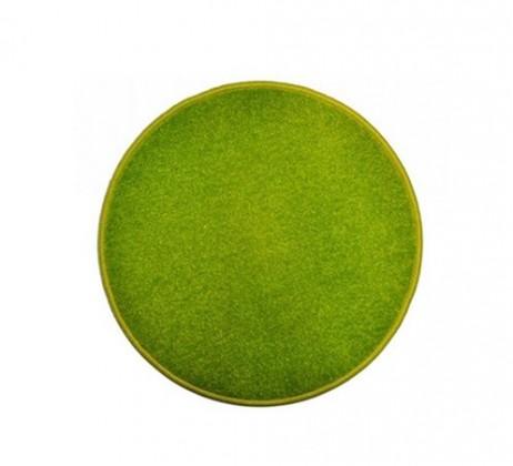 Eton - koberec, 80x80cm (100%PP, guľatý, zelená)