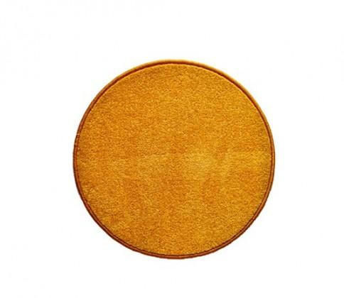 Eton - koberec, 80x80cm (100%PP, guľatý, žltá)