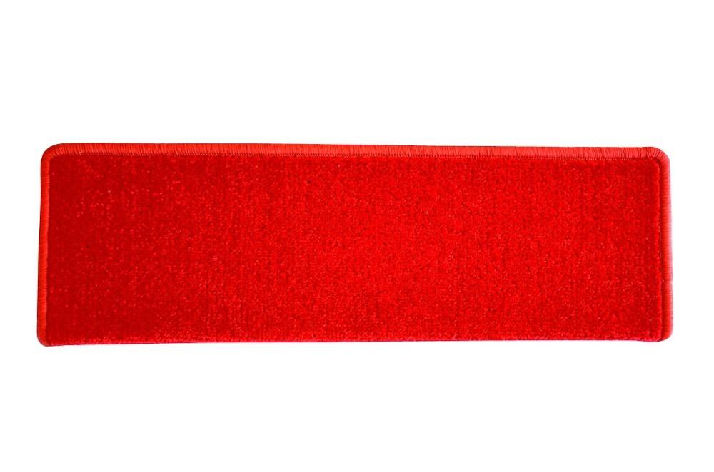 Eton - Schodový nášľap, 24x65 cm (červený obdĺžnik)
