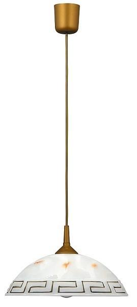 Etrusco - Stropné osvetlenie, E27 (řecké vzory/zlatá)