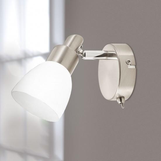 Eve - Nástenné osvetlenie, LED (matný nikel)