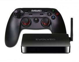 EVOLVEO Android Box H4 Plus, 4K multimediálne herné centrum