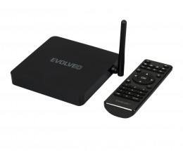 EVOLVEO Android Box H4 Plus, 4K multimediálne herné centrum ROZBA