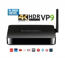 EVOLVEO Android Box H4, Quad Core 4K multimediálne centrum