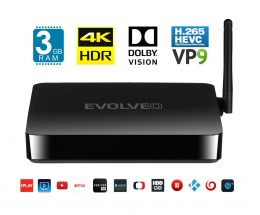 EVOLVEO Android Box H8, Octa Core 4K multimediálne centrum