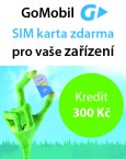 EVOLVEO SIM karta - 300 Kč kredit Go mobil