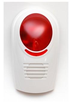 Evolveo Sonix bezdrátová venkovní siréna pro GSM alarm