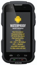 Evolveo StrongPhone Q4, čierna ROZBALENÉ