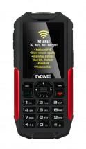 Evolveo StrongPhone X3, červená/čierna