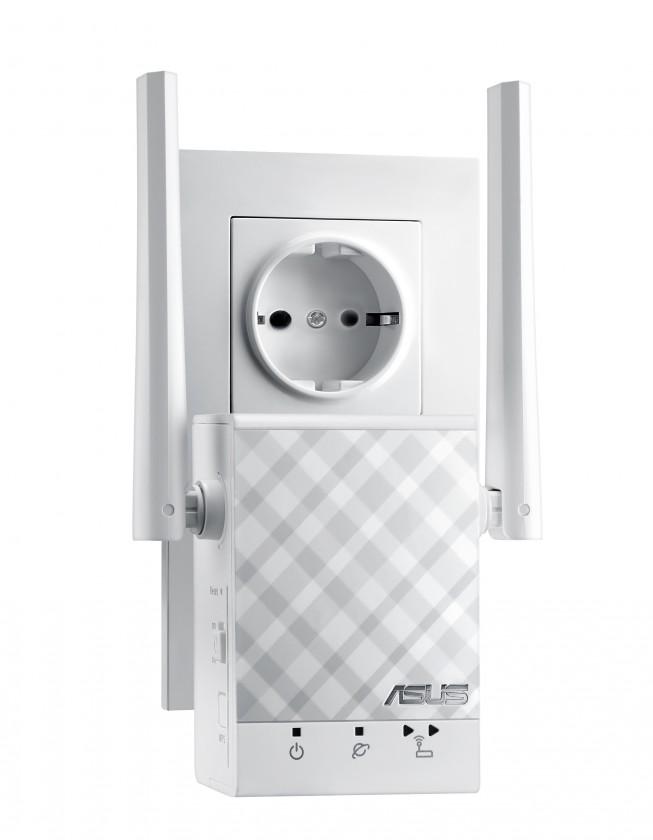 Extender WiFi extender Asus RP-AC51, AC750