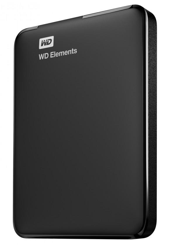Externé HDD disky HDD disk 1TB Western Digital Elements (WDBUZG0010BBK-WESN)