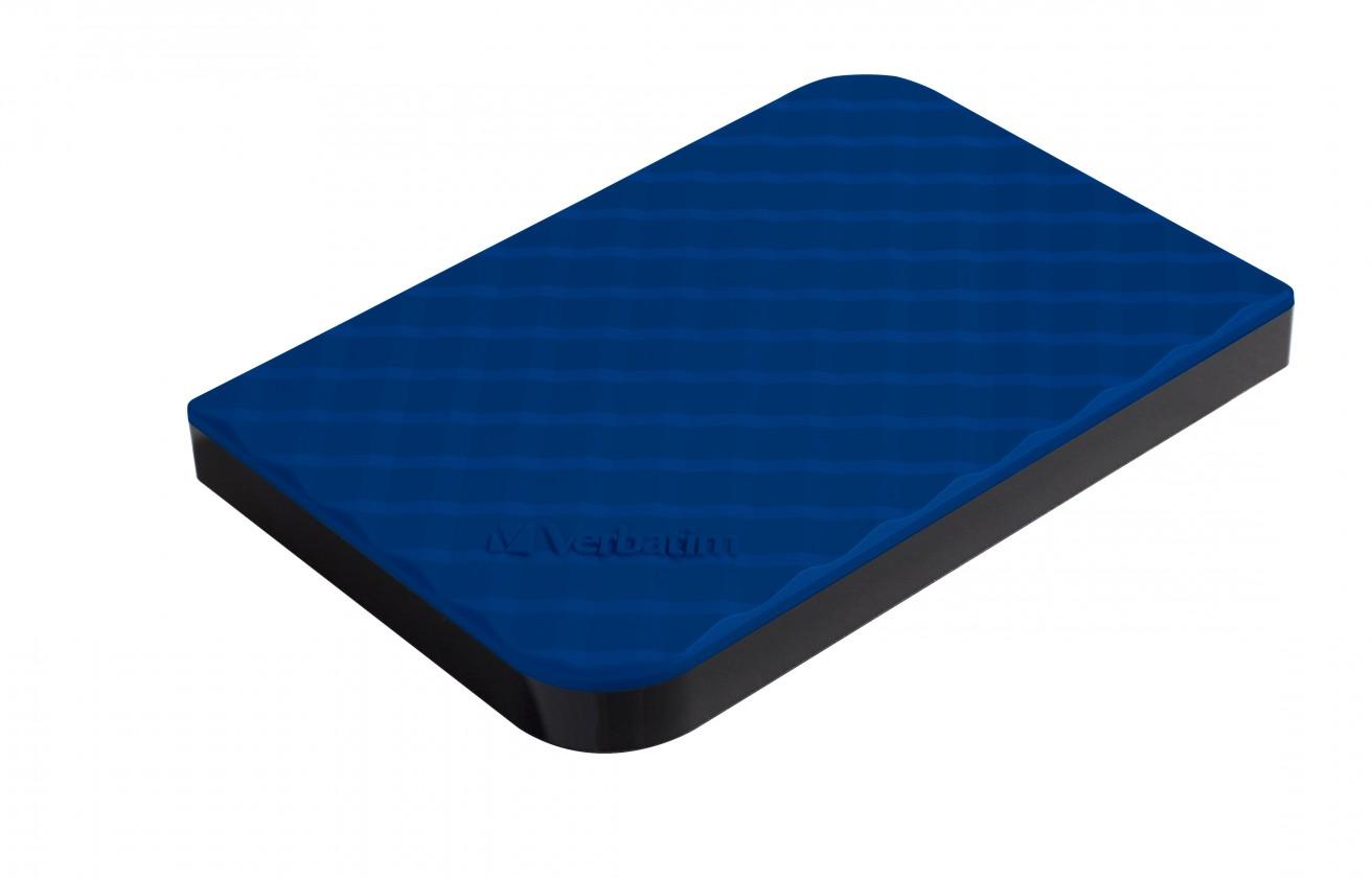 "Externé HDD disky Verbatim Store'n'Go GEN2,1TB/Externí/USB 3.0/2,5""/Blue 53200"