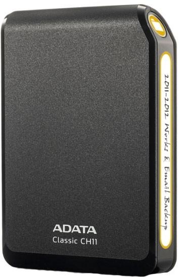 Externý disk  A-Data CH11 750GB Black (ACH11-750GU3-CBK)
